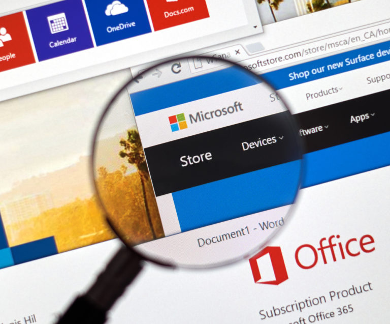 Easing theMigration to Office 3656 image of the Microsoft store online